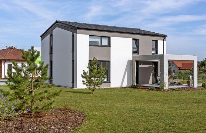 Rodinný dům Classic City poskytuje obrovské množství vnitřního prostoru pro mladou dvojici i velkou rodinu