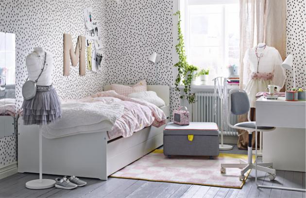 Sedací díl ze série Släkt (IKEA) s úložným prostorem, cena 2 790 Kč, www.ikea.cz