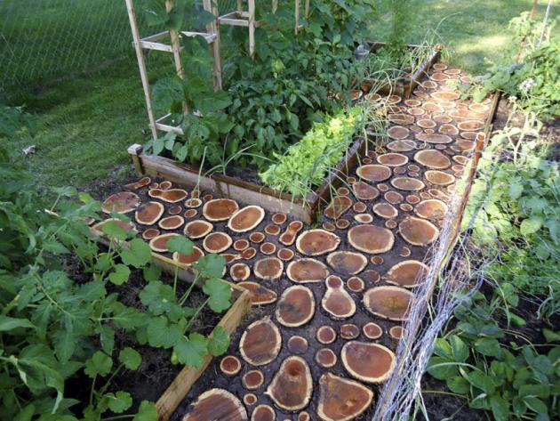 Přírodní dřevo nedáváme nastinná avlhká místa. Ipřes pečlivou impregnaci apřípadné ošetření zanořených částí asfaltem by poměrně rychle podlehlo houbám aplísním. Narušený povrch nebo nepatrná vrstvička řas mohou při zvlhnutí velice klouzat.