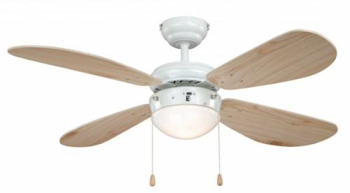 AireRyder FN43315 Classic borovice, stropní ventilátor se světlem