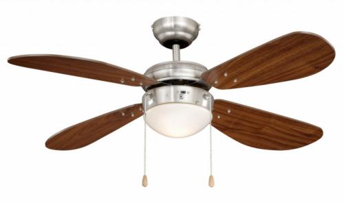 AireRyder FN43336 CLASSIC ořech, stropní ventilátor se světlem
