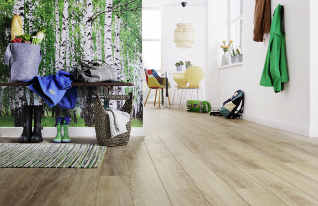 Aqua Stop laminát Wineo 500 medium dekor Traditional-Oak-Brown (Zdroj KPP)
