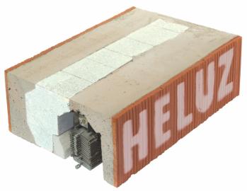 HELUZ Roletové a žaluziové překlady - produkt (Zdroj HELUZ)