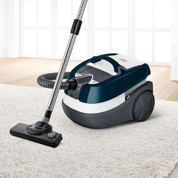 Nový sortiment doplňuje tyrkysový BWD41720 s kartáčem na jemné a důkladné čištění parket a ostatních citlivých tvrdých podlahových ploch.