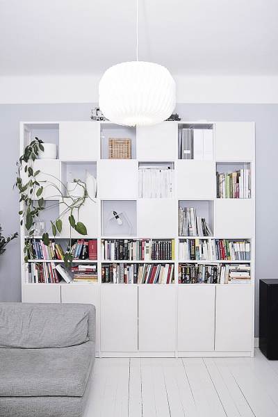 Doporučené rozměry knihovny namíru jsou šířka min. 40cm, max. 130cm, výška min. 60cm, max. 250cm