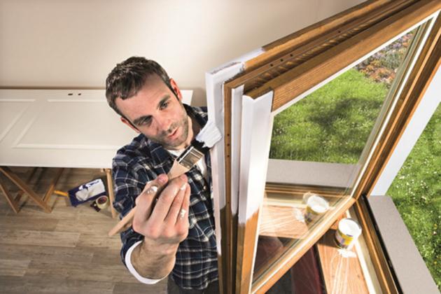 Malování oken