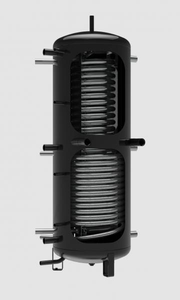 Akumulační nádrž NADO 500 v6 s celkovým objemem topné vody 475 litrů