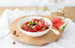 Ovocný melounový salát