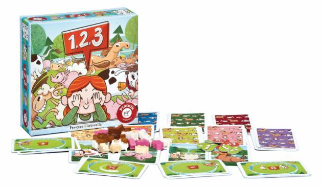 1,2,3 299 Kč.Veselá hra pro děti od 4 let na procvičení vizuální paměti. Pravidla jsou velmi jednoduchá, takže je rychle pochopí i ti nejmenší a dobře se u hry zabaví. Zapamatujete si, kde které zvířátko stálo, zda některé nechybí či nepřebývá?