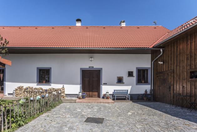 Rekonstrukce vrátila statku původní charakter zemědělského stavení 19. století