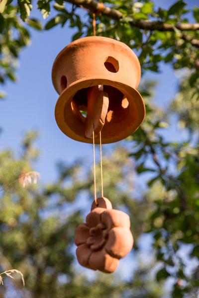 keramický zvonek Tondach