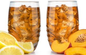 SodaStream Ledový čaj broskev nebo citron 500 ml je 129,- Kč.