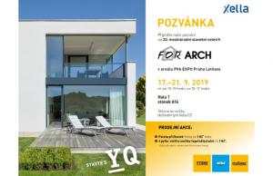 Podzimní pozvánky od Ytongu – For Arch pro veřejnost a Ytong Dialog s odborníky