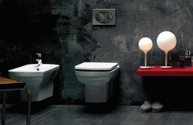 Závěsné WC Nero (Olsen Spa) zaujme svým propracovaným designem.