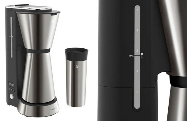 Vychutnejte si kávu kdekoliv a kdykoliv. Kávovar na překapávanou kávu Aroma z řady KITCHENminis®, který šetří prostor, vás každé ráno probudí úžasnou vůní kávy.
