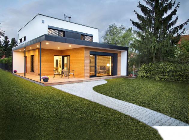 Pasivní dům roku 2016 Pod Smrkem navržený Ing.Irenou Truhlářovou se stal pro mnoho lidí inspirací, www.archcon.cz