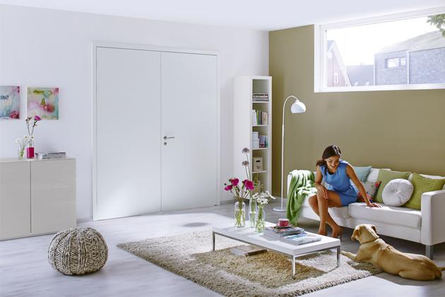 Dvoukřídlé dveře Hörmann zřady  Milieau, různé povrchové úpravy, cena od2294Kč, www hormann.cz