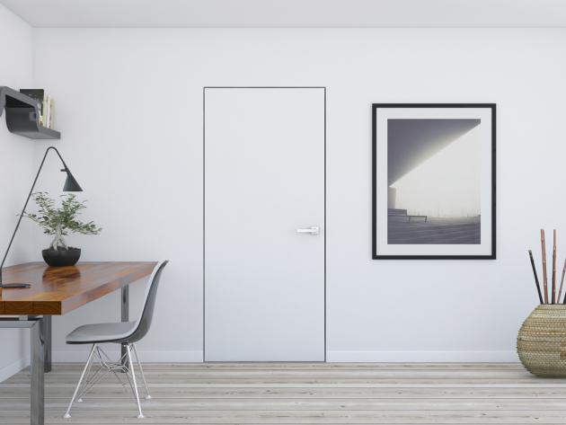 Dveře Natrurel se skrytou zárubní,  cena zárubně od10488Kč, www.siko.cz