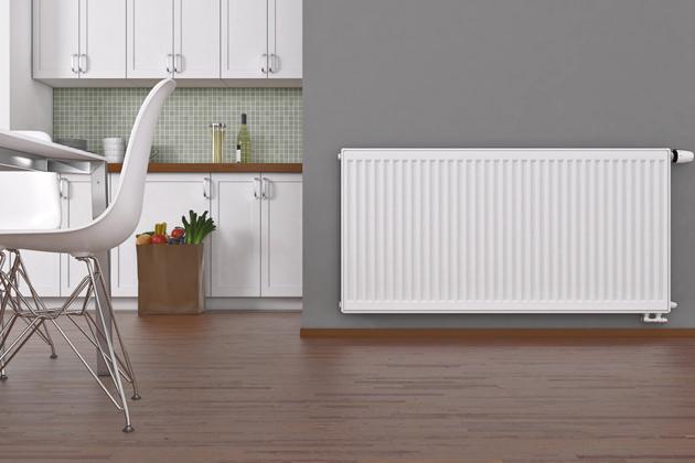 Deskové radiátory Radik RC vhodné pro nízkoenergetické vytápění. Dostupost ve více  než 200 odstínech barev, cena od 5 800 Kč,  www.korado.cz