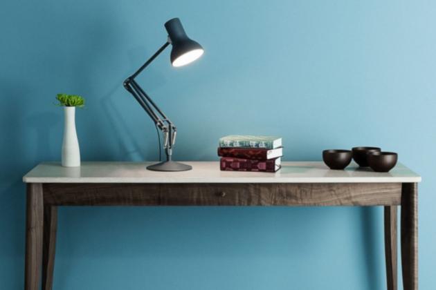 Lampe d'architecte Type 75 Mini noir LED Ø17cm H40cm - Anglepoise