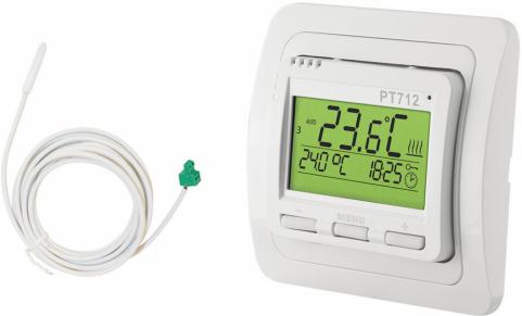 Energii potřebnou pro topení můžete snížit díky použití digitálního termostat