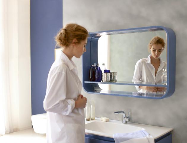 Zrcadlo ze série Dea, Ideal Standard, integrované Led osvětlení, několik rozměrů, cena k doptání,  www.idealstandard.com
