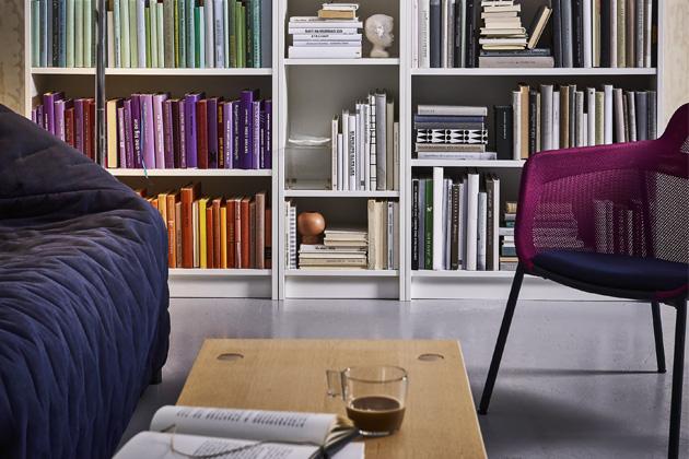 Knihovna Billy, 80 x 28 x 106 cm, cena 799 Kč, www.ikea.cz