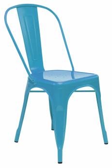 Barvy vnese do interiéru lakovaná kovová židle Metal, cena 1 499 Kč, www.kika.cz