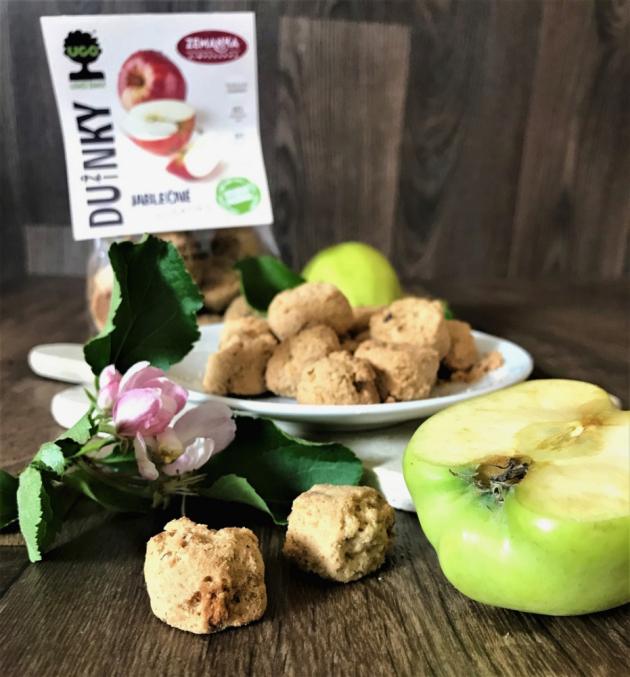 V jedinečném projektu Biopekárna Zemanka se spojila se značkou UGO přišla se zcela novou řadu cirkulárních sušenek a krekrů s názvem Dužinky.