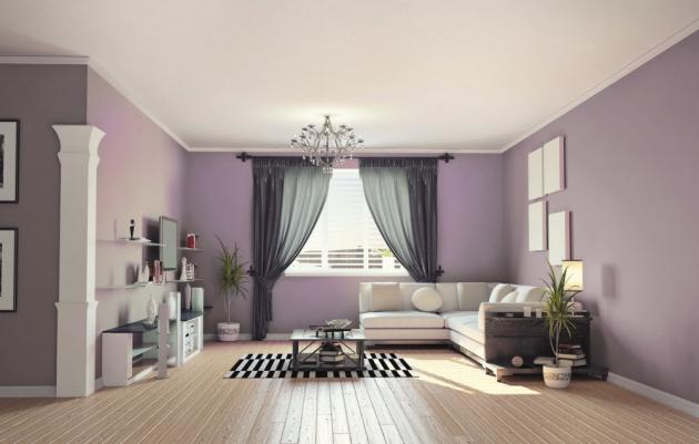 Levandulová – stimulující, mysteriózní barva, perfektně se vyjímá v kombinaci s hnědou