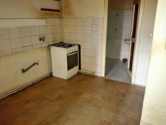 Původní kuchyň, nyní koupelna
