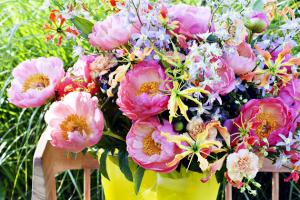 Nádherné, bohaté a voňavé květy pivoněk již od nepaměti symbolizují lásku, štěstí, zdraví, bohatství a eleganci. Není tedy divu, že v tomto období jsou vítaným hostem na našich zahradách, ve vázách v našich domovech, ale hlavně na svatbách v podobě svatebních kytic a dekorací...