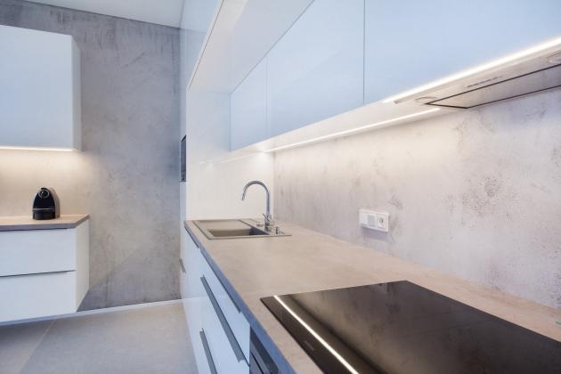 Jak již samotný genius loci tohoto místa napovídá, ideálním styleminteriérového designu zde bude beton a jednoduché linie.