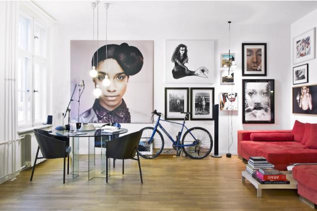 Interiér bytu Mateo Jaschika je jako stvořený pro uměleckou tvorbu. Právě tady vznikly skladby z nejnovějšího alba kapely Culcha Candela