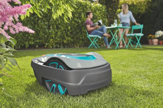 Robotická sekačka Gardena