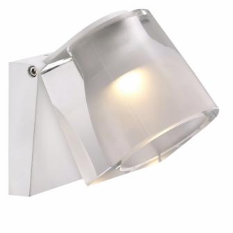Nástěnnou LED lampičku IP S12 (Nordlux) můžete nastavit až o120°, kov/plast, 8,5 × 9cm, cena 4115Kč, www.alhambra.cz
