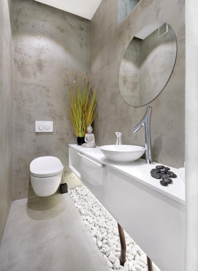 Moderní stěrky uplatníte prakticky ve všech prostorách, v interiéru i exteriéru. V koupelnách stěrka nahradí dlaždice a umožní vytvoření celistvých ploch s vynikajícími vodoodpudivými vlastnostmi. Nádherné jsou také hlazené omítky Granit vycházející z barevných struktur přírodní žuly, kde můžete ještě víc zvýraznit kresbu, nebo ji tónovat metalickými odstíny olova či mědi. Další možností je použití technologie Sculptural, která vykouzlí efekt písečných dum. Stěnami a podlahami možnosti stěrek nekončí, protože se dají použít k vytvoření originálních schodišť, www.nemec.eu