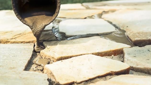 Stavba kamenné terasy