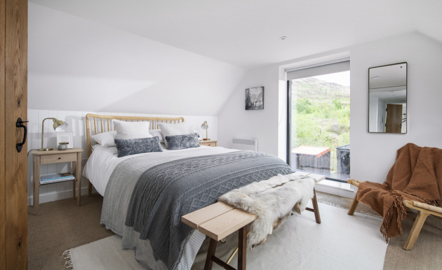 ložnice Prostorná lůžka jsou synonymem komfortu adíky maximálním výhledům dokrajiny je nebudete chtít vůbec opustit