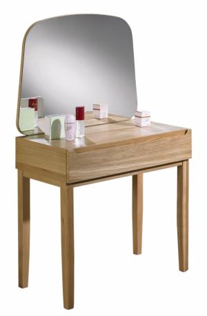 2. Toaletní stolek Mary (Jitona), design Zuzana Škrinárová, masivní dub / dýha, 80 × 137 × 45,8 cm, cena 10 480 Kč, www.jitona.cz