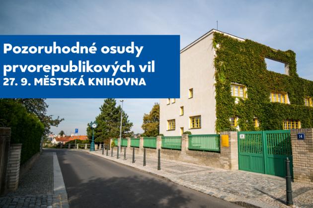 Cyklus popularizačně-vědeckých přednášek SmartTalk se na podzim vydá do zlaté éry československého stavitelství a funkcionalizmu světové úrovně!