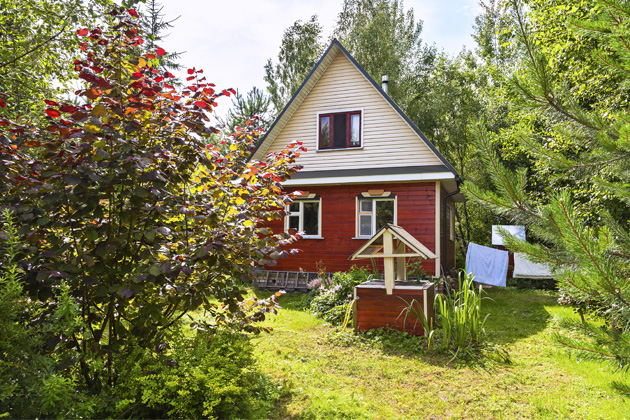 Léto na chatě steplou vodou