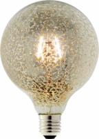 LED žárovka FLAIR Globe Vintage kouřová