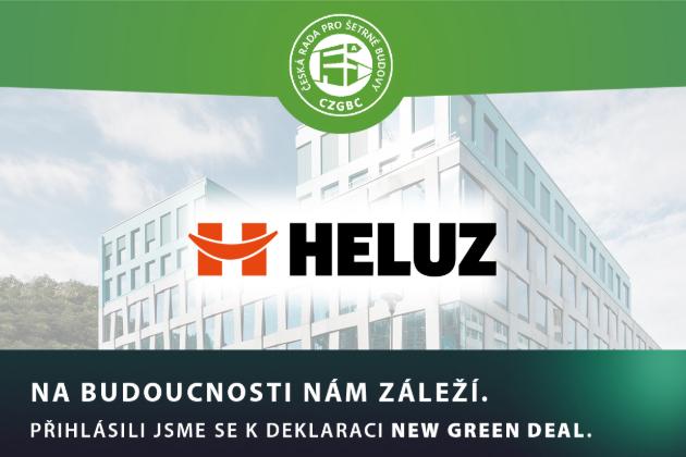 NEW GREEN DEAL: HELUZ a další společnosti vyzvaly vládu k podpoře moderních šetrných staveb