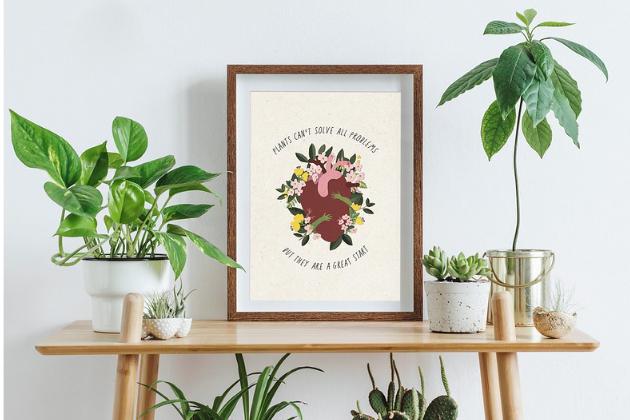 Zahrada na niti vydává novou sérii Rostlinných aforismů.