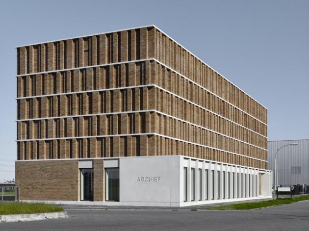 Městský archiv Delft, Delft, Nizozemsko  Architekti: Office Winhov, Amsterdam/Netherlands & Gottlieb Paludan Architects, Copenhagen/Denmark  Copyrights: Stefan Müller