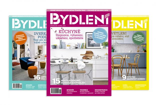Roční předplatné časopisu Bydlení Cena 440 Kč, www.bydlenimagazin.cz