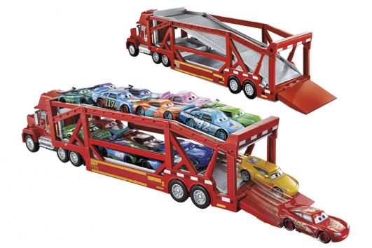 Transportér Mac Cars 3, Mattel Cena 1 499 Kč, www.mall.cz