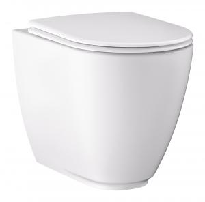 Závěsná toaleta Classic Rim Off (Ravak), cena 4 950 Kč, ultratenké sedátko, cena 1 290 Kč, www.ravak.cz