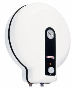 Kompaktní elektrický ohřívač vody to 20 (DZ Dražice), vhodný pro jedno nebo více odběrných míst. Objem 20 l dostačuje i pro sprchu nebo více umyvadel, cena od 3 322 kč, www.dzd.cz